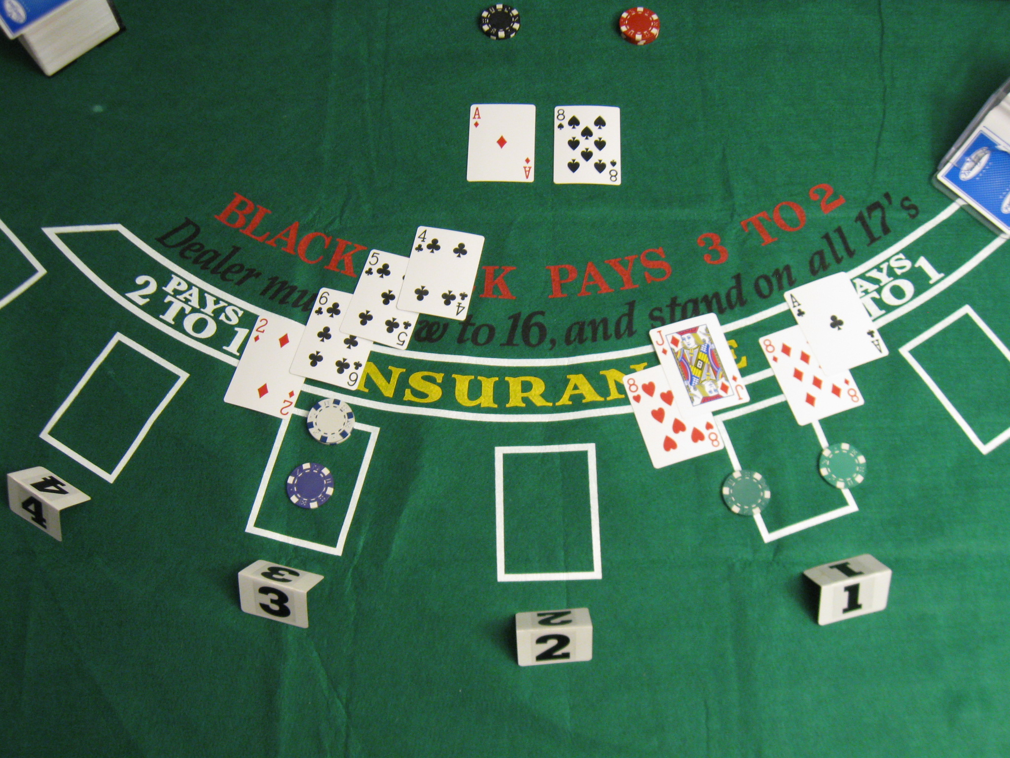 What constitutes a blackjack